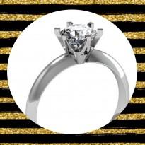 Feinheit Goldschmiede Verlobungsring