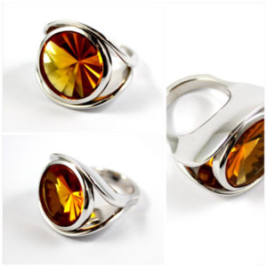 """"""" Eye of the Tiger"""" Ring"""