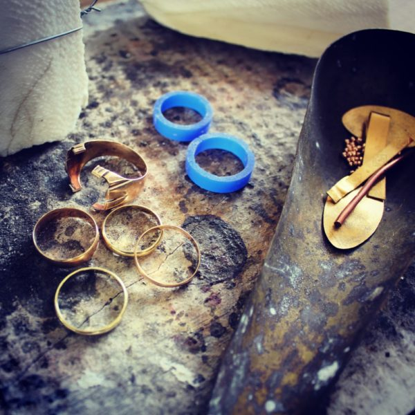 Feinheit Goldschmiede Ehering Workshop Altgold anliefern