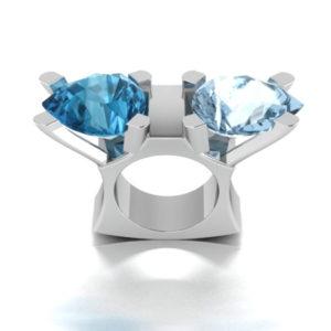 """""""Blue King"""" Ring"""