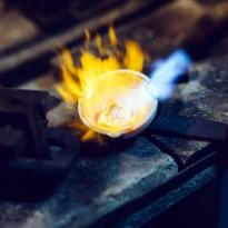 Feinheit Goldschmiede Gold schmelzen
