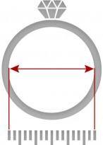 Ringdurchmesser abmessen