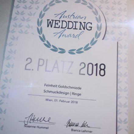 Austrian Wedding Award 2018