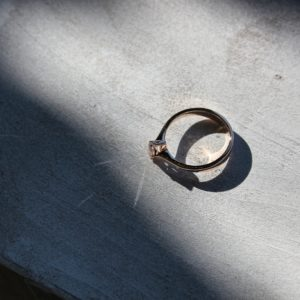 Feinheit Goldschmiede - Rising in Love Verlobungsring